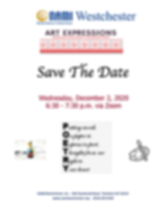 Save The Date-Art Expressions 2020 Flyer