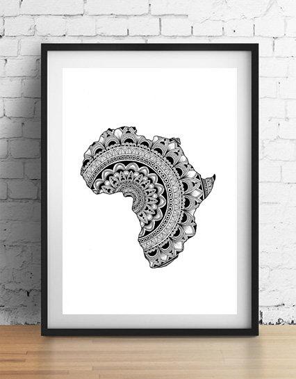 'Motherland' A4 unframed print