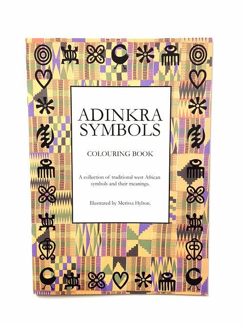 Adinkra Symbols Colouring Book