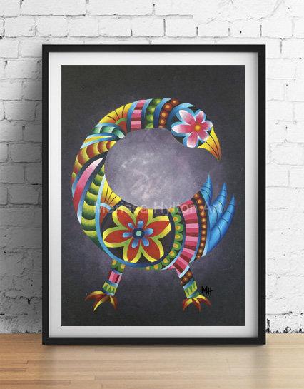 'Sankofa' A4unframed print