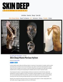Skin Deep Magazine, Oct 2020