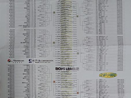第24回関東ボーイズリーグ大会組み合わせ