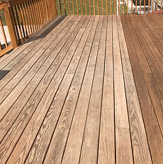 Prismatic Deck Staining and Treatment