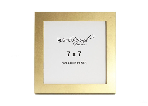 "7x7 1"" Gallery Picture Frame - Gold"