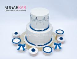 Hochzeitstorte Fondant Torte