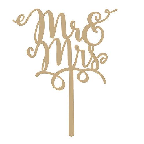 Mr & Mrs Geschnörkelt