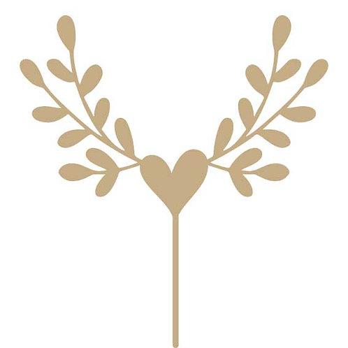 Herz mit Zweig