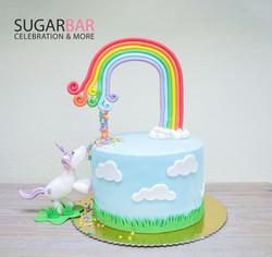 Einhorn Torte Geburtstagstorte