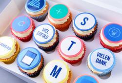Firmen Cupcakes