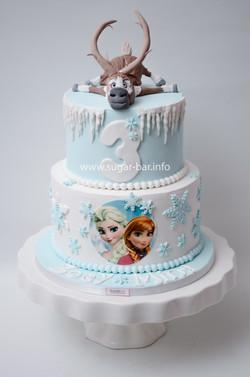 Elsa Torte Frozen