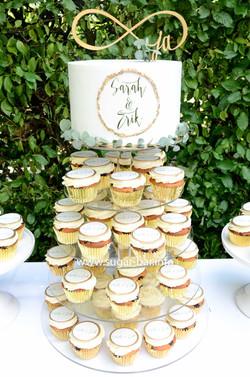Cupcakes Torte