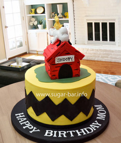 Geburtstagstorte Snoopy Torte