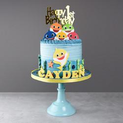 Babyshark Torte