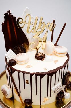 Dripcake Geburtstagstorte