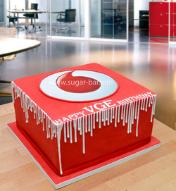 Jubiläums Torte Vodafone