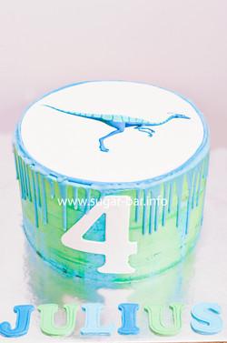 Dinosaurier Torte Geburtstagstorte