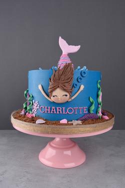 Geburtstagstorte Meerjungfrau