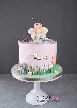 Geburtstagstorte Butterfly