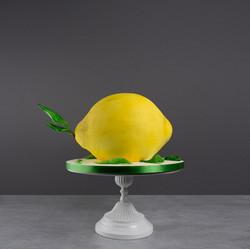 3D Zitronen Torte