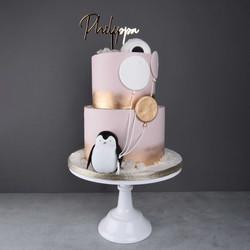 Pinguine Torte
