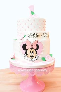 Geburtstagstorte Minnie Mouse Torte