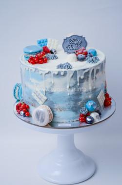 Geburtstagstorte Dripcake