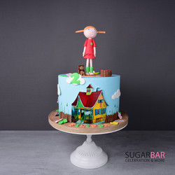 Pippi Langstrumpf Torte
