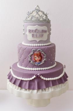 Geburtstagstorte Prinzessin Sofia