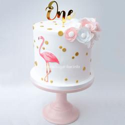 Flamingo Geburtstagstorte