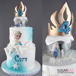 Frozen torte