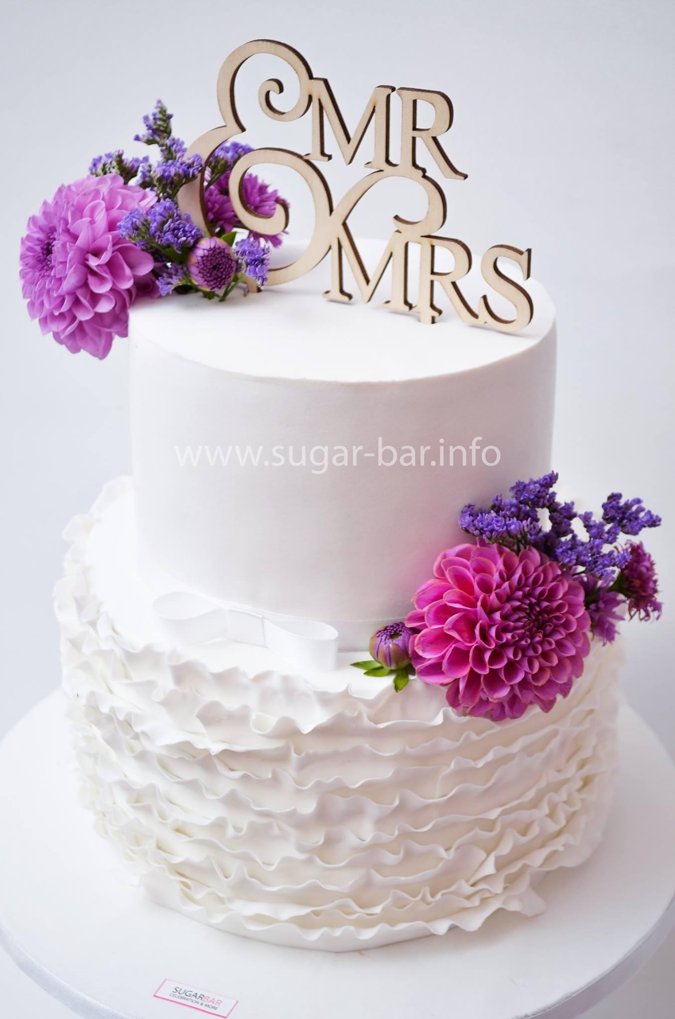 Hochzeitstorte Weddingcake Modernart