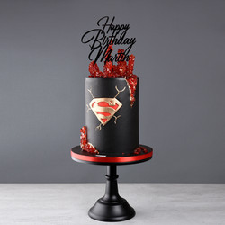 Superman Torte