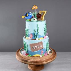 Unterwasser Torte