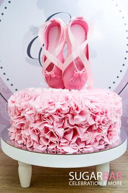 Geburtstagstorte Ballerina