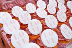 Cupcakes Wedding Love