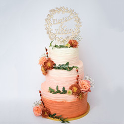 Nakedcake Hochzeitstorte