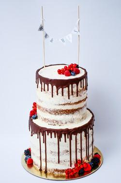 Hochzeitstorte Naked Cake Düsseldorf