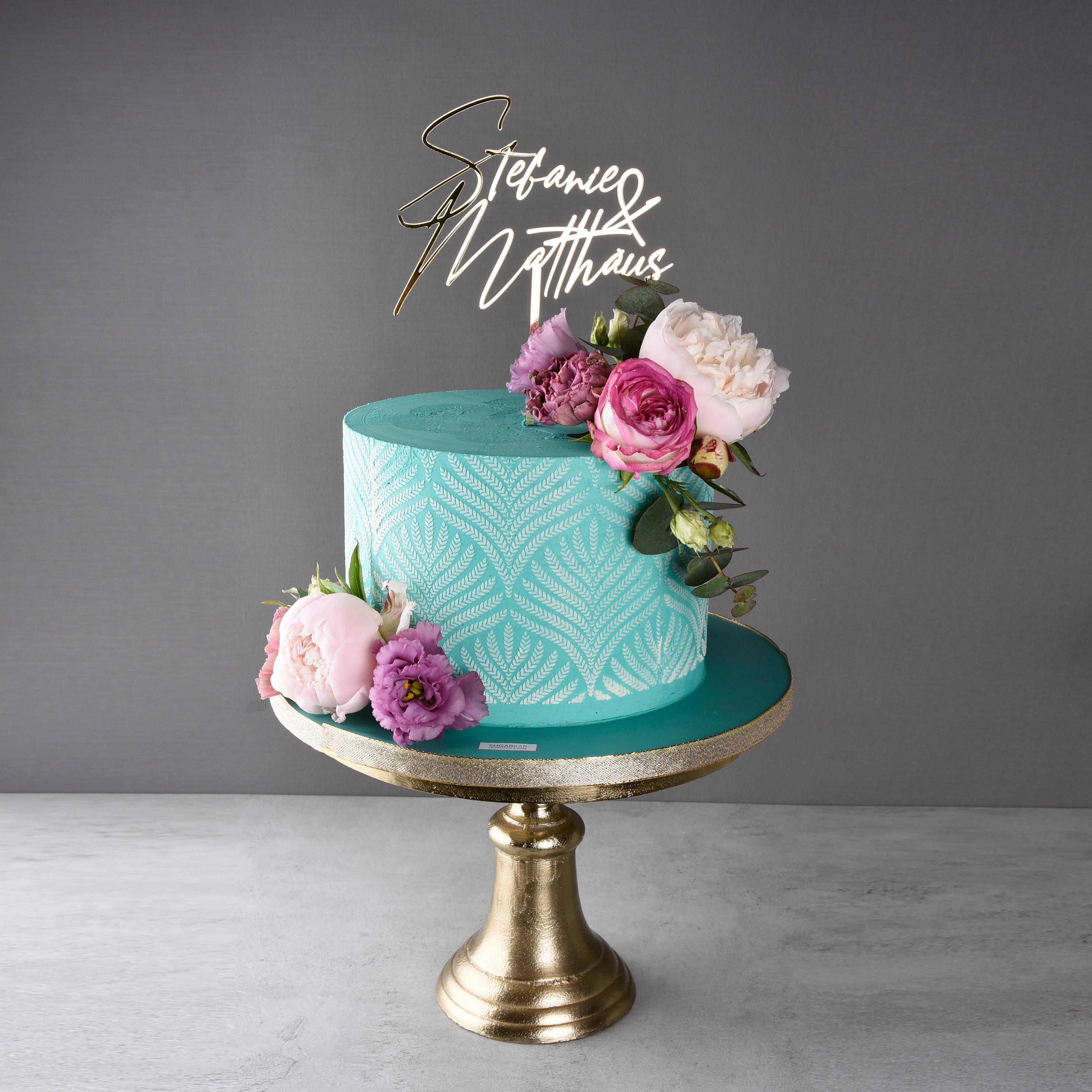 Creme Torte Wedding