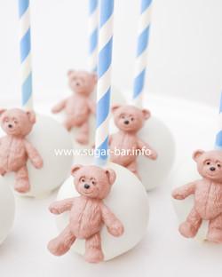 Cakepops Teddybär