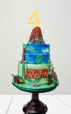 Dino Torte Geburtstagstorte