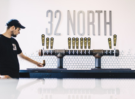 So close you can touch it – 32 North Brewing Company