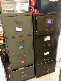 Archivages métalliques
