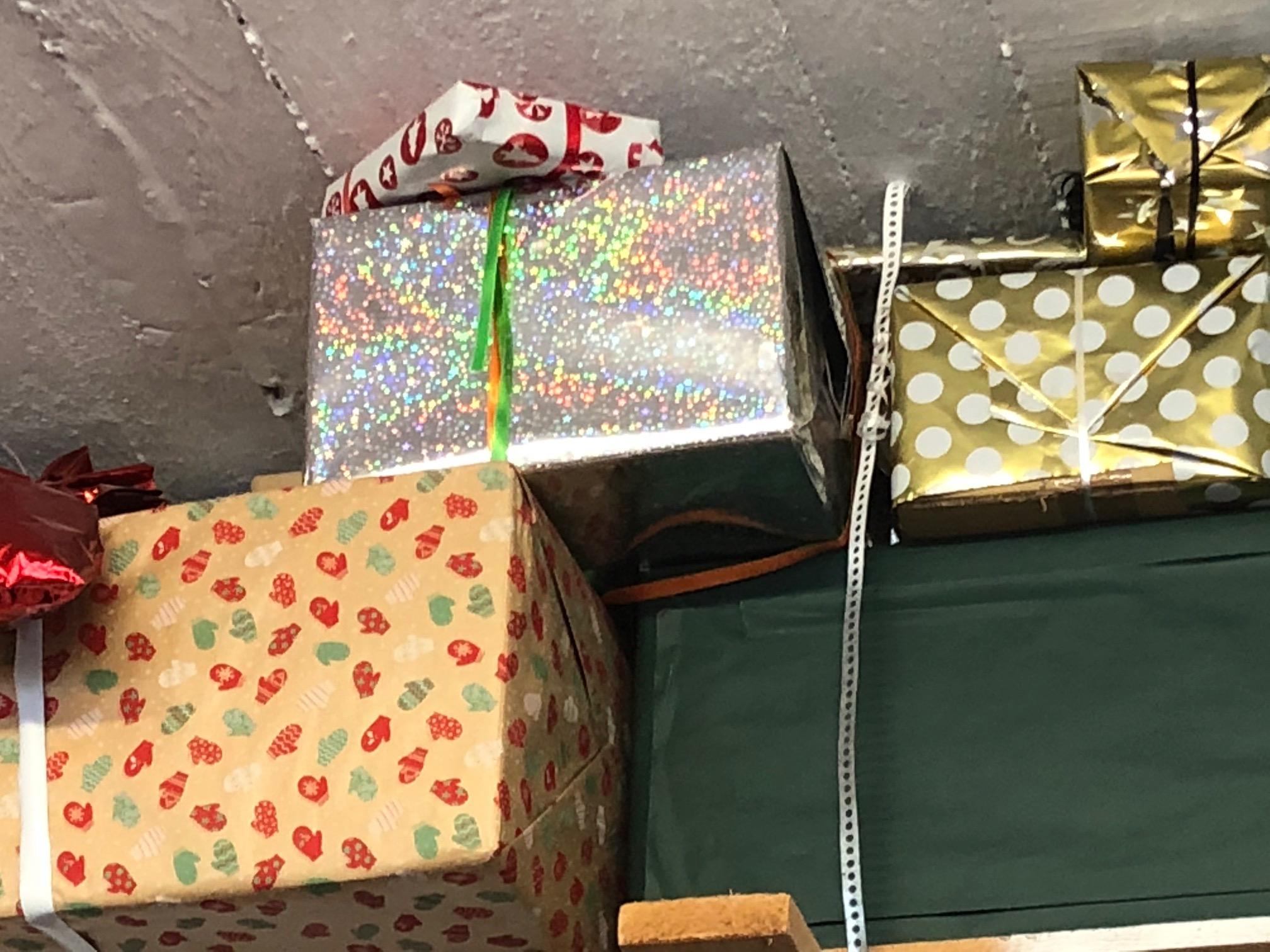 Cadeaux (faux!) emballés