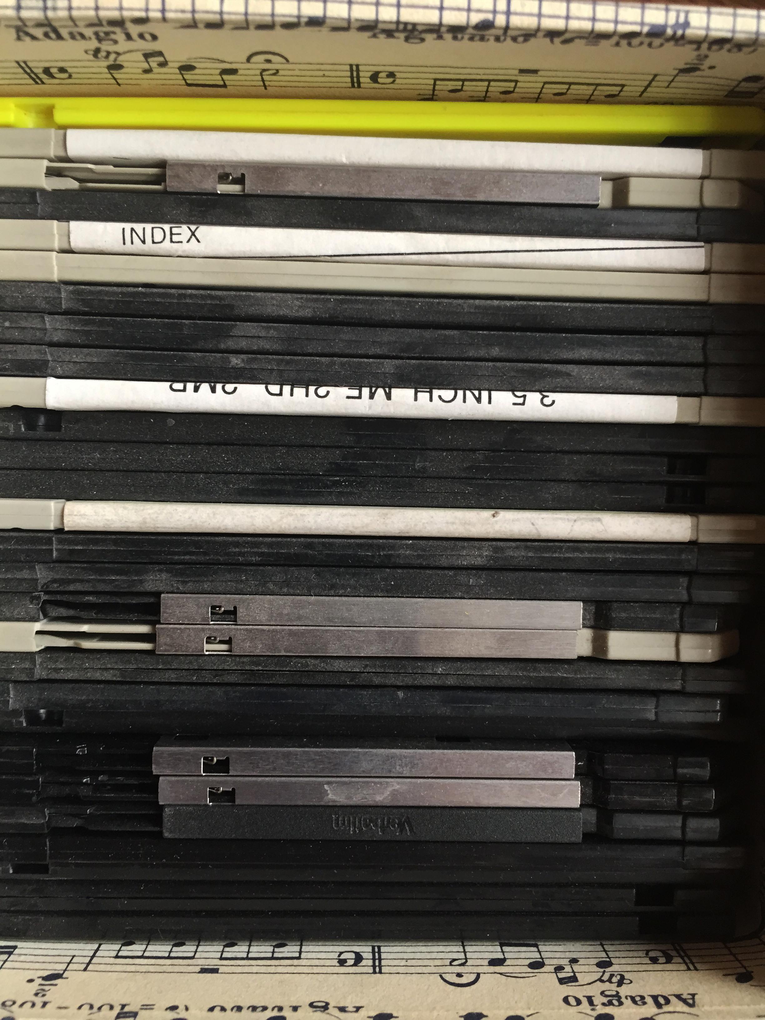 Ordinateurs et disquettes