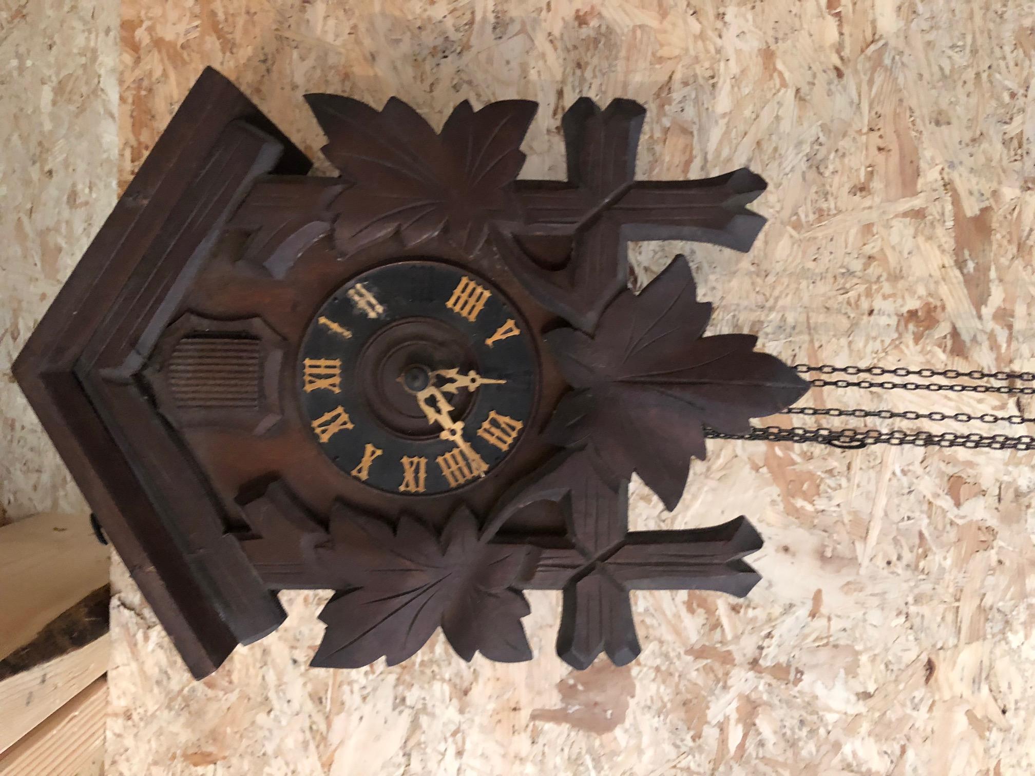 Horloge coucou suisse