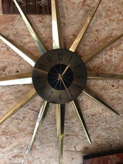 Horloge soleil vintage
