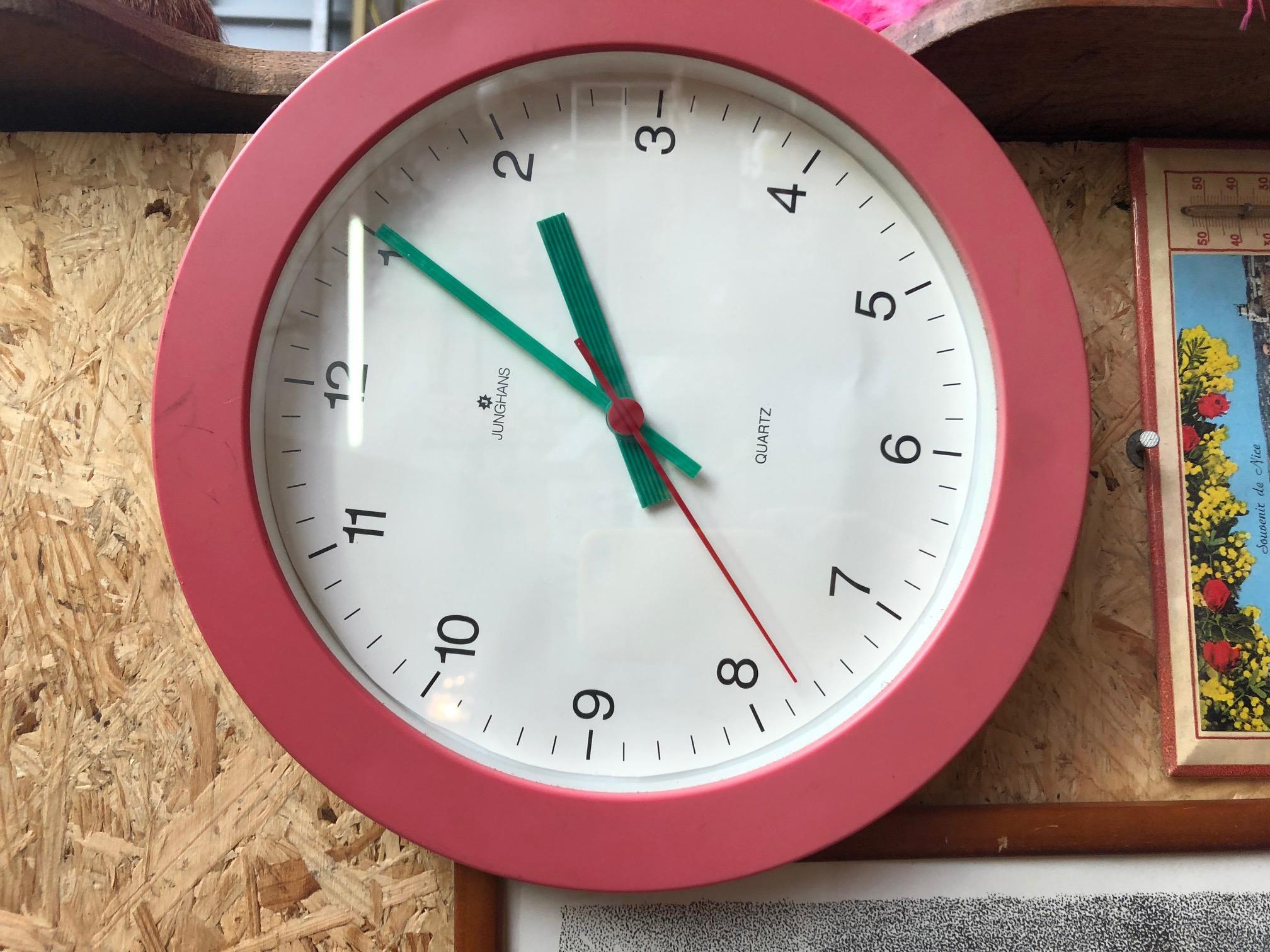 Horloge année 80