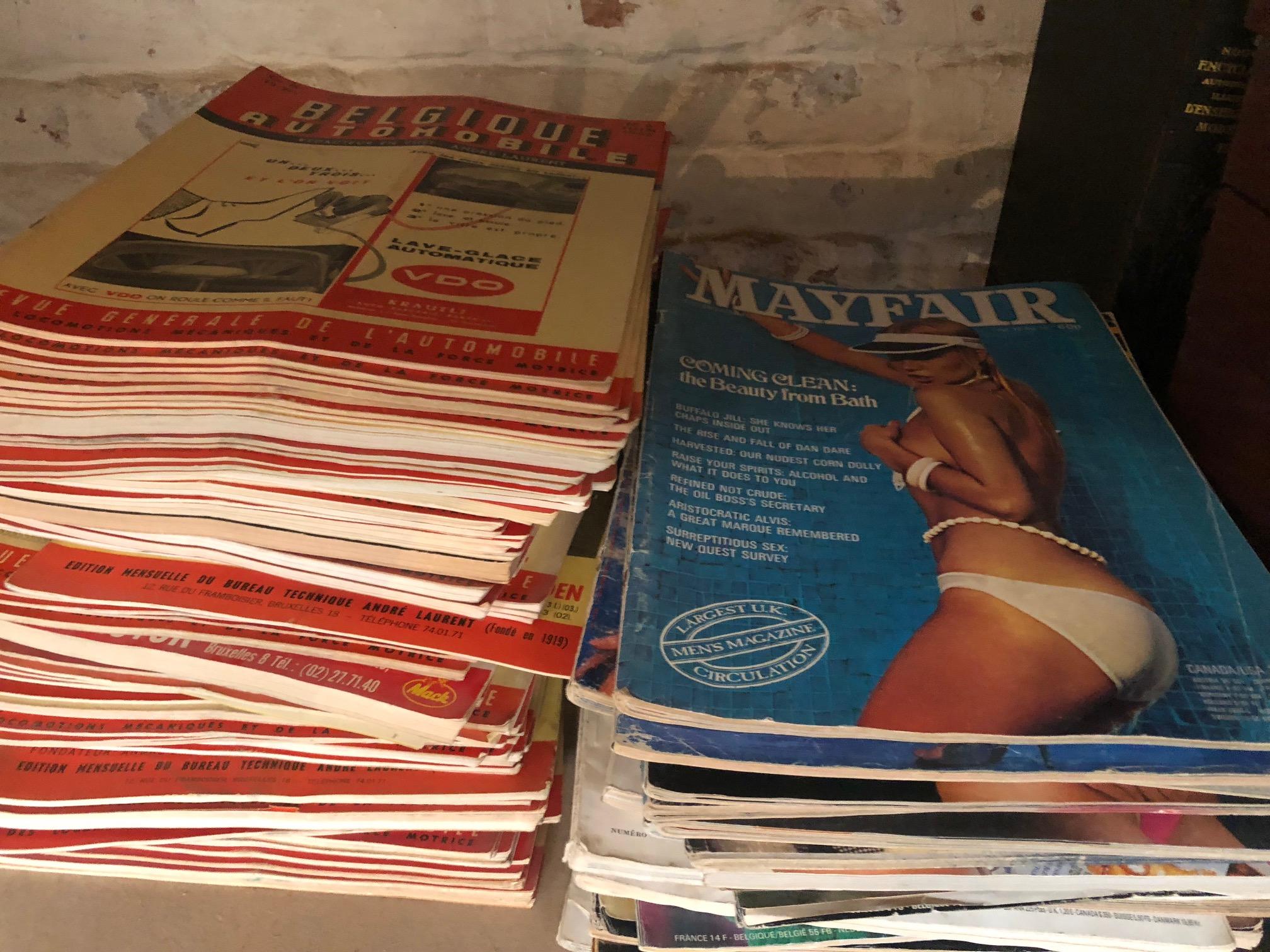 Magazines vintage