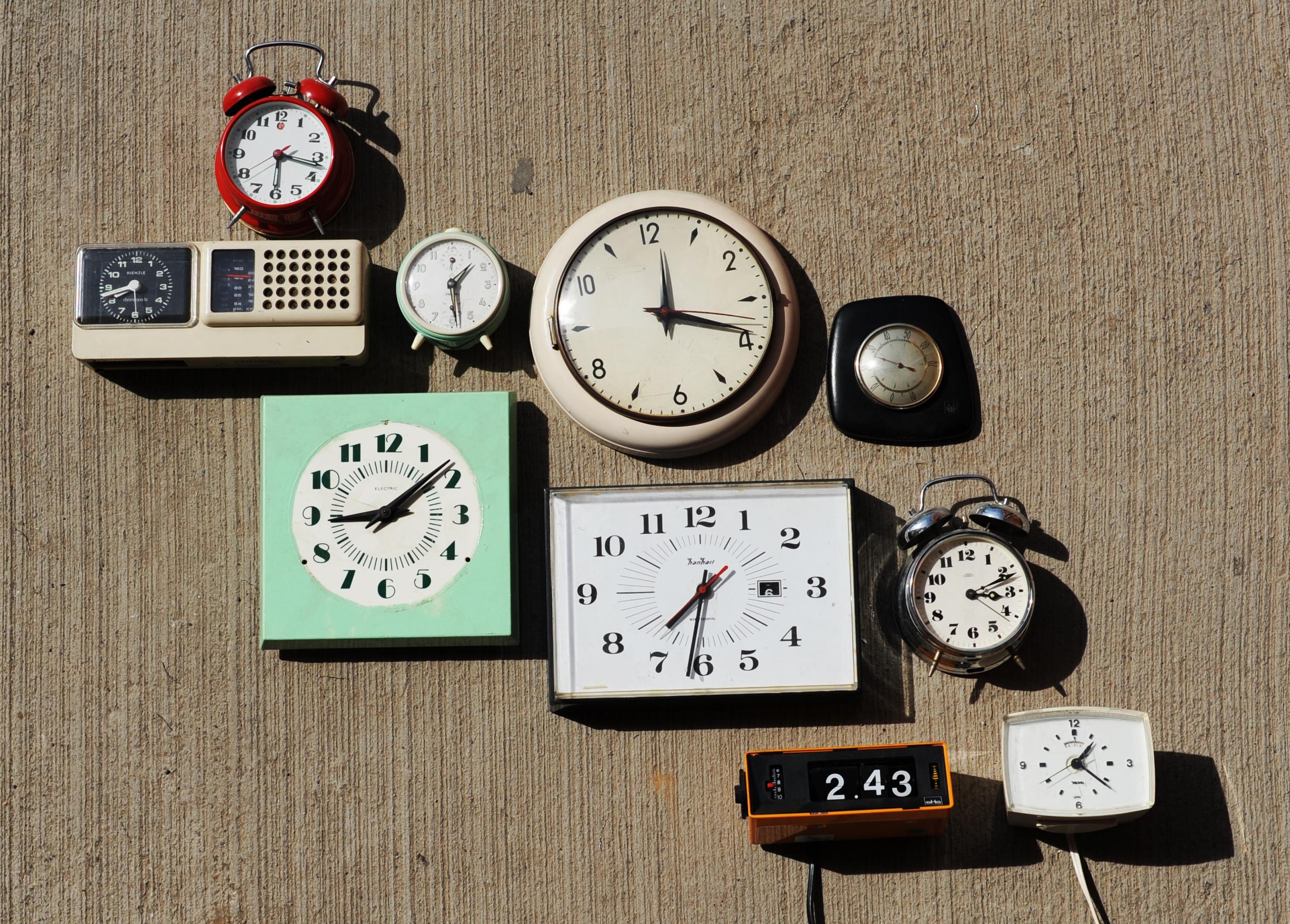 Horloges et réveils