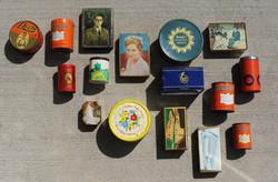 Boites anciennes et médicaments